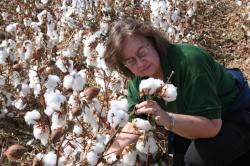 Image of Jane Pierce with Cotton